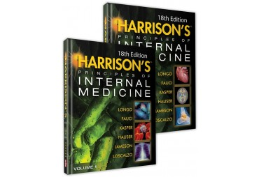 HARRISON'S PRINCIPLES OF INTERNAL MEDICINE. 2 volumes